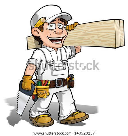 Add Color Yourself -- Handyman - Carpenter
