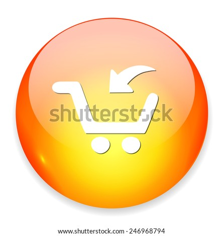 add to cart button, buy now icon - stock photo