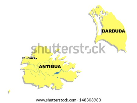 Island Of Antigua And Barbuda Stock Images RoyaltyFree Images