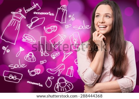 Adolescence, adult, attractive. - stock photo