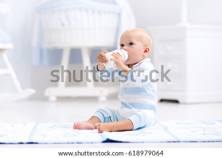 Baby Milk Bottle Stock Images Royalty Free Images