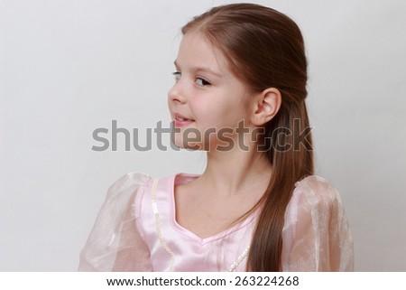 Adorable princess - stock photo