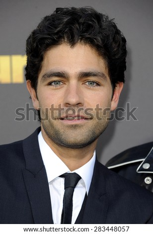 Adrian Grenier at the Los Angeles premiere of 'Entourage' held at the Regency Village Theatre in Westwood on June 1, 2015.