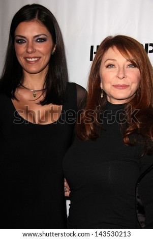 Adrianne Curry and Cassandra Peterson at the Comikaze red carpet Launch Party, Whimsic Alley, Los Angeles, CA 06-21-13