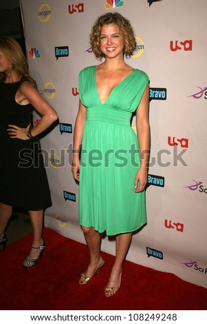 Adrianne Palicki  at the NBC Universal 2008 Press Tour All Star Party. Beverly Hilton Hotel, Beverly Hills, CA. 07-20-08