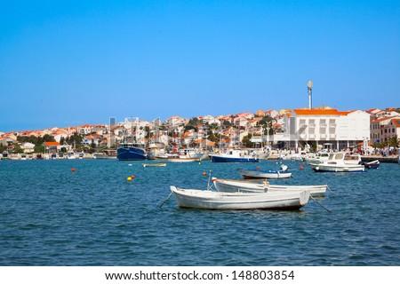 Adriatic landscape - stock photo