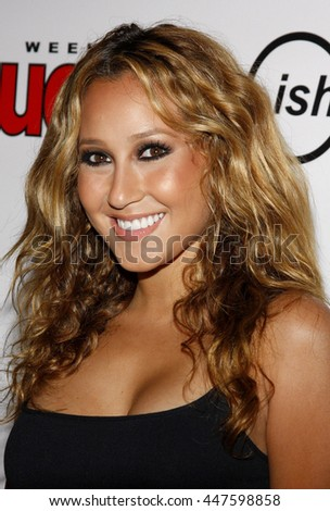 Adrienne Bailon at the Summer Stars Party 2008 held at the Social Club in Hollywood, USA on May 22, 2008.