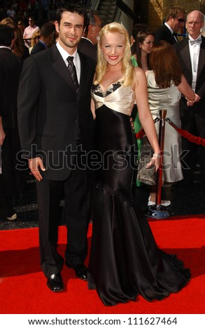 Adrienne Frantz and friend at the 34th Annual Daytime Emmy Awards. Kodak Theater, Hollywood, CA. 06-15-07