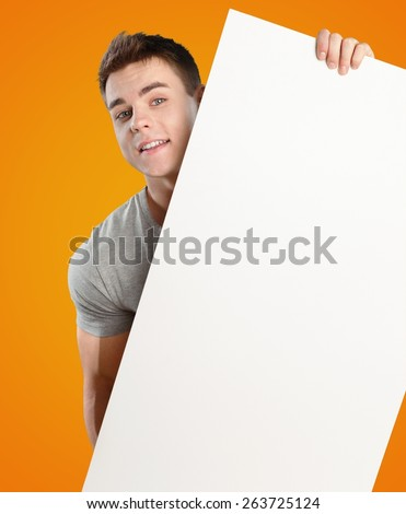 Adult, advertisement, announcement. - stock photo