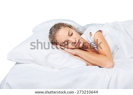 Adult, alone, attractive. - stock photo