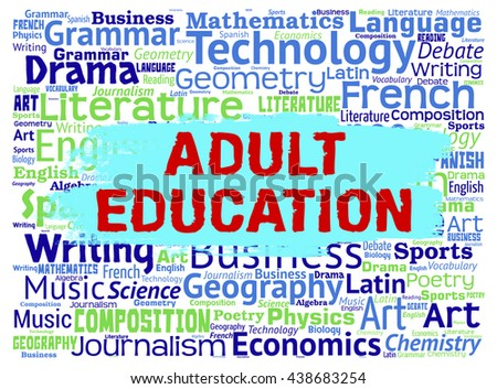 Adult Education Meaning Mature School And Tutoring