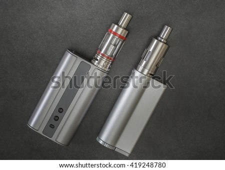 Advanced personal vaporizer or e-cigarette, from above