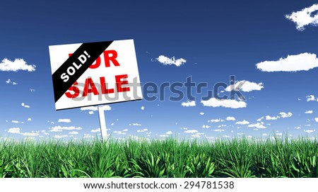 advertising sign for sale / sold