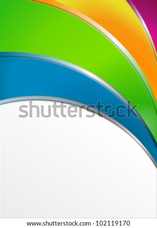 Advertising Template with copyspace - stock photo