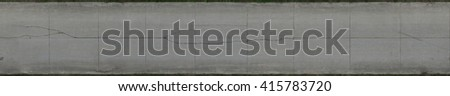Aerial concrete road texture - stock photo