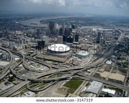 Aerial of New Orleans 6