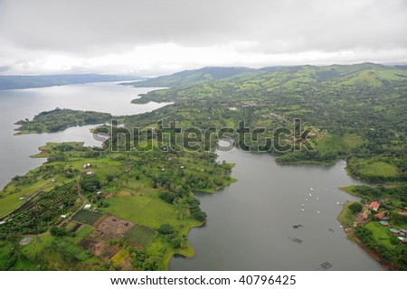Aerial view in Costa Rica (10) - stock photo