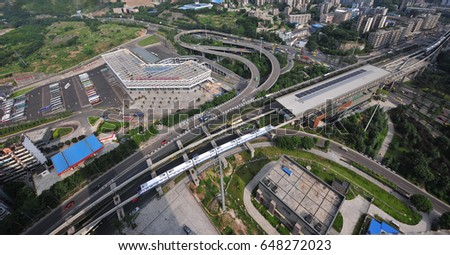 Aerial View : Integrated Transport Hub