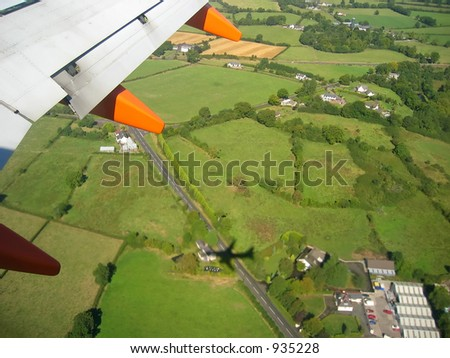 Aerial view of belfast, Northern Ireland