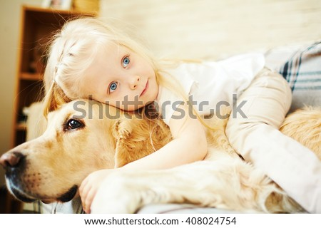 Affectionate friends - stock photo
