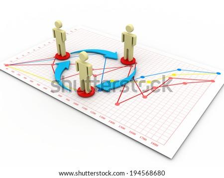 Affiliate Marketing Concept - stock photo