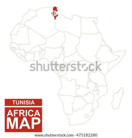 Tunis Map Stock Images RoyaltyFree Images Vectors Shutterstock - Map of tunisia africa