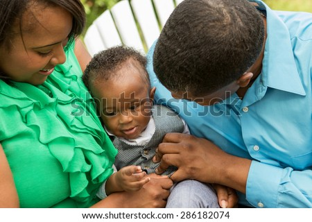 African American Family - stock photo