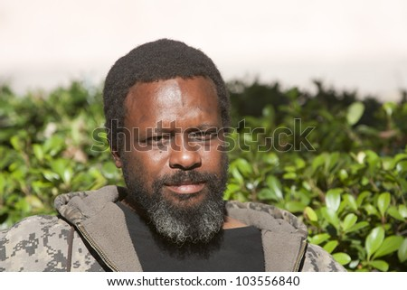 African American man outside during the day