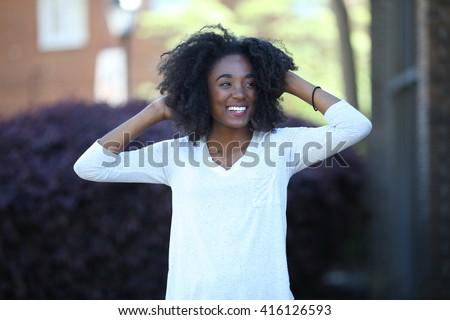 American teen smiling felix