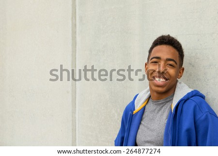 African American Student - stock photo