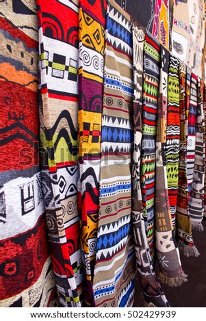 African arts crafts african craft market stock photo for African arts and crafts