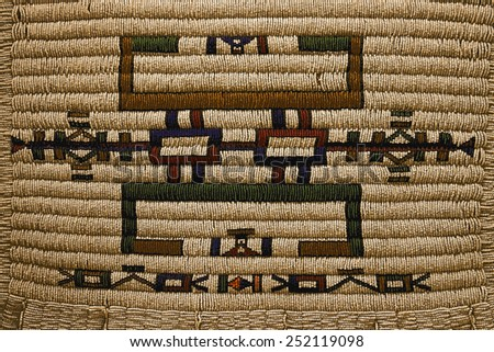 African decoration - stock photo