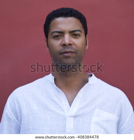 African descent man portrait - stock photo