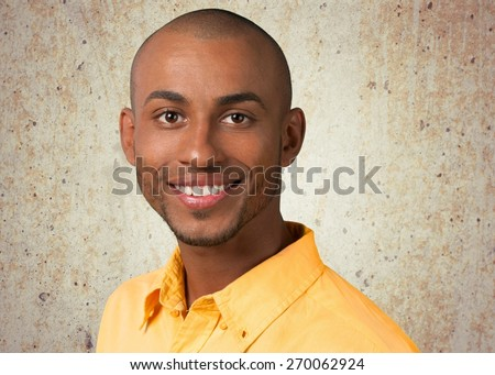 African Descent. Young Man - stock photo