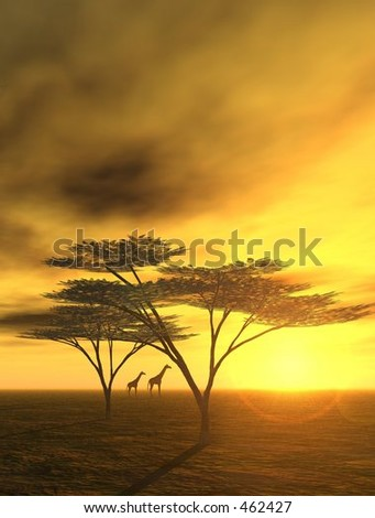 African Dreams - stock photo