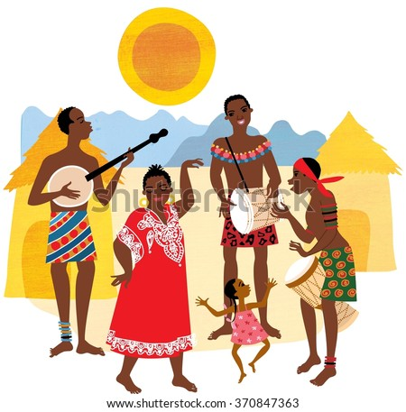 Traditional African Huts Stock Photos, Royalty-Free Images ...