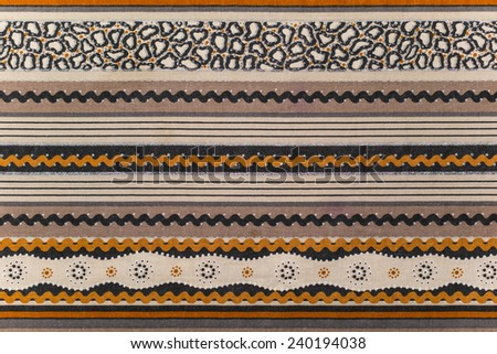 African pattern - stock photo