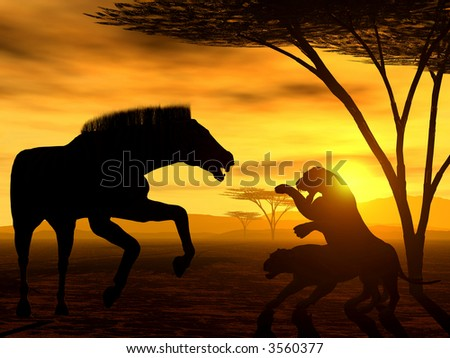 African Spirit - The Law of Nature - stock photo