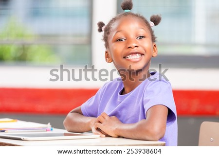Elementary School Girl Girl in Elementary School