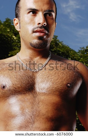After workout shot - stock photo