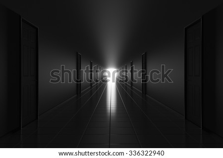 Afterlife concept - stock photo
