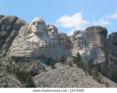 Afternoon at Mount Rushmore
