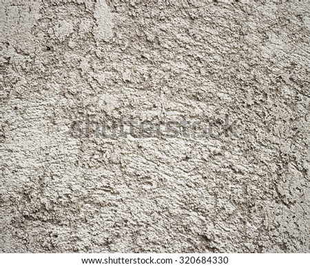 Aged cement wall texture split  grain  light - stock photo