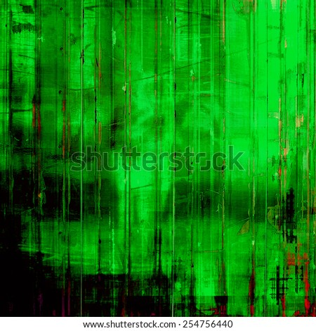 Aged grunge texture. With different color patterns: gray; green; black
