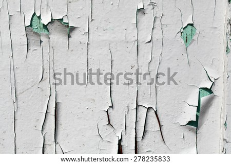 Aged painted wood textured background