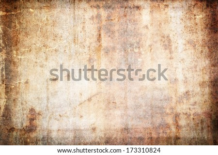 Aged Paper background with space for text or image. Digital art