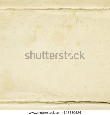 Aged paper texture, background - stock photo