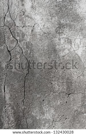 Aged plaster wall - stock photo