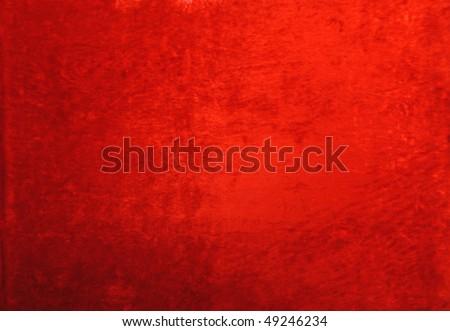 aged red velvet texture, background - stock photo
