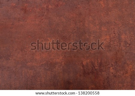 Aged Rusty Bronze Metal Background - stock photo